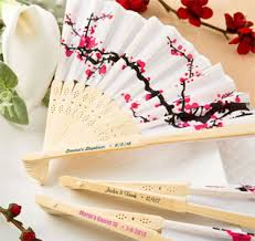personalized fans for weddings wedding fans fan favors wedding fan favors