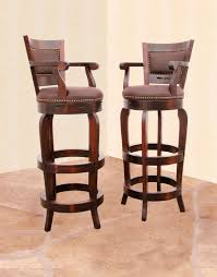 Wooden Swivel Bar Stool Wooden Swivel Bar Stools Cabinet Hardware Room Comfort And