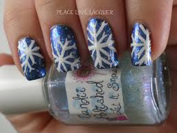 peace love lacquer 12 days of christmas nail art days 2 4