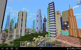 Minecraft Pe Maps Ios Minecraft Pe Gigantic City The Biggest City In Pocket Edition