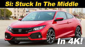 honda civic si insurance rates 2018 honda civic si review and road test detailed in 4k uhd