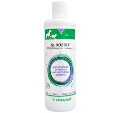 sebozole shampoo medicated pet grooming entirelypets