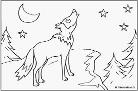 Loup 63 Animaux  Coloriages à imprimer