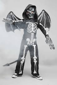Skeleton Costume Flying Skeleton Costume For Boys Chasing Fireflies
