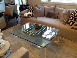 lucite rectangular coffee table mecox gardens