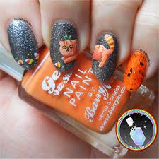 Halloween Nail Art Pumpkin - freehand pumpkin weenie halloween nail art ithinitybeauty com