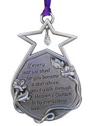 pewter memorial ornament shop food kaboodle celebration of