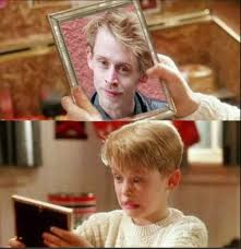 Macaulay Culkin Memes - macaulay culkin sees the future while home alone picture