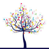 musical tree illustration 21880419 megapixl
