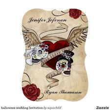 Halloween Wedding Sayings 96 Best Halloween Chic Invitations Images On Pinterest Happy