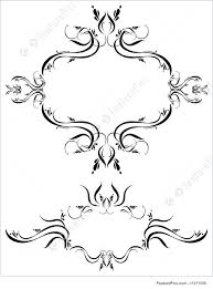 fancy detailed decorations ornamental illustration