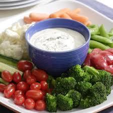 Vegetables by Ranch Dip U0026 Crunchy Vegetables Recipe Eatingwell