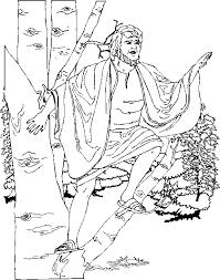Zacchaeus Coloring Page Zacchaeus Coloring Page