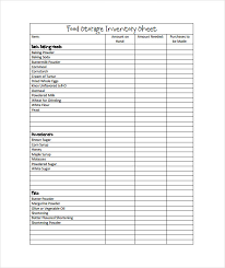 Restaurant Inventory Spreadsheet by Inventory Spreadsheet Template 45 Free Word Excel Documents