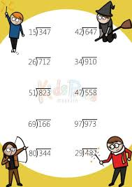 57 best division practice images on pinterest cool math