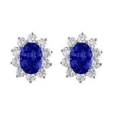 tanzanite stud earrings gemstone earrings costco