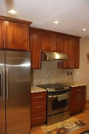 Stainless Steel Kitchen Cabinet Hardware Astonishing Maple Shaker Kitchen Cabinets Features Black Color