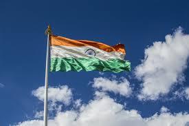 Indian National Flag Hoisting Leh Ladakh U0026 Glory Himalayas India Drive