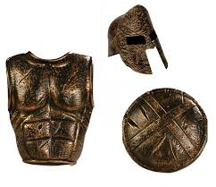 roman costume gladiator armor spartan greek warrior helmet set