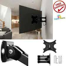 tv wall mount swing out tv stand wall mount swing out tilt articulating arm bracket lcd