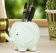 cool pen holders elephant shaped pen holder feelgift
