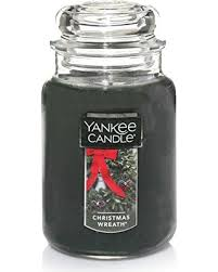 get the deal yankee candle large jar candle wreath