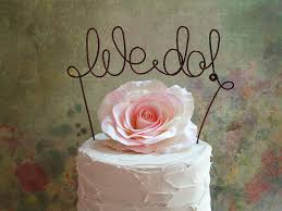 we do cake topper we do cake topper banner rustic wedding cake topper shabby chic