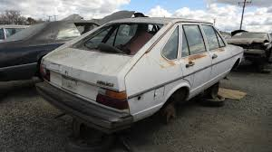 hatchback cars 1980s junkyard find 1980 volkswagen dasher four door hatchback the