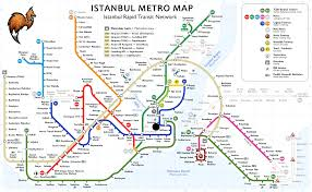 Metro Map Tokyo Pdf by Subway Map Istanbul My Blog