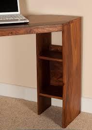 Sheesham Computer Desk Small Computer Desk Corner Unit Sheesham Wood Casa