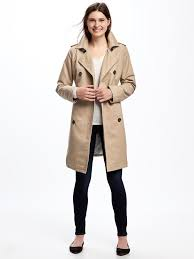 trench coat for women old navy