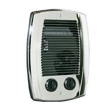 Small Electric Heaters For Bathrooms Cadet Com Pak 1 000 Watt In Wall Fan Forced Bathroom Heater In