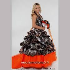 camo and orange wedding dresses naf dresses