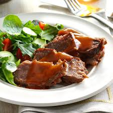 sweet u0027n u0027 tangy pot roast recipe taste of home