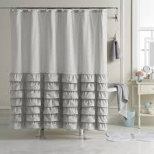 Dainty Home Flamenco Ruffled Shower Curtain White Twin Platform Bed With Storage U2014 Modern Storage Twin Bed