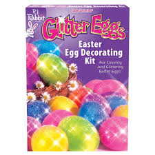 amazon com fun world bb1754c glitter eggs easter egg decorating