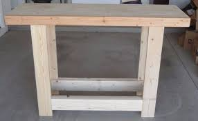 Portable Work Bench Build A Portable Workbench Any Size You Want 14 Steps With Pictures