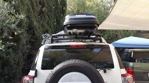 2005 Toyota Tacoma Roof Rack by Yakima Or Thule Mounts On Oem Roof Rack Toyota Fj Cruiser Forum