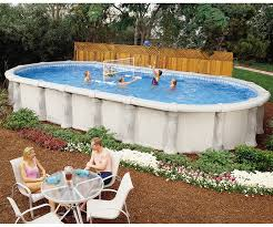 aqua quip doughboy tuscany above ground swimming pool seattle store