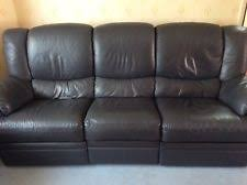 Blue Leather Armchair 2 Seater Leather Sofa Sofas U0026 Seating Ebay