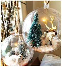 snow globe ornaments arctic theme 10 steps with pictures