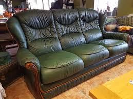 canap cuir vert achetez canapé cuir vert occasion annonce vente à branges 71