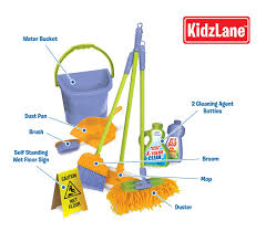 amazon com kidzlane kids cleaning set for toddlers up to age 4