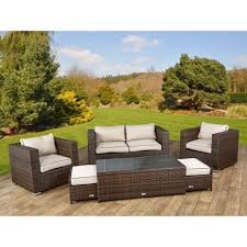 Wicker Sofa Bed by Ascot 2 Seat Sofa Set In Chocolate Mix And Coffee Cream01 Jpg
