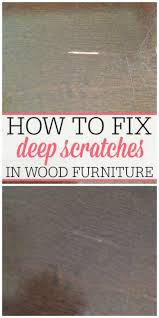 Best Way To Protect Hardwood Floors From Furniture by 25 Unique Fix Scratched Wood Ideas On Pinterest Repair