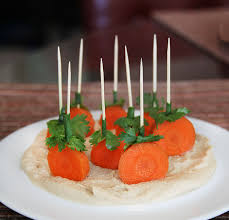 pumpkin patch hummus and carrot appetizer an easy and healthy