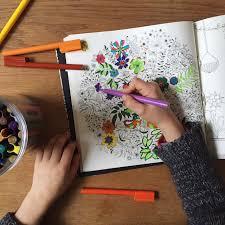 secret garden intricate colouring book babyccino kids daily