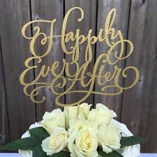 wedding cake topper happily ever after cake topper 2428155