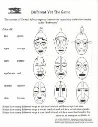 african masks drawings for kids google search art projects for