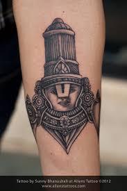 lord tirupati balaji tattoo inked by sunny at aliens tattoo mumbai